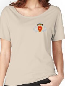 4th BCT Airborne 25th Infantry Women's Relaxed Fit T-Shirt