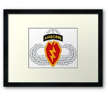 4th BCT Airborne 25th Infantry Framed Print