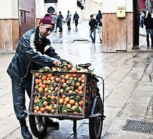 The Orange Man of Fez by JLCampbell