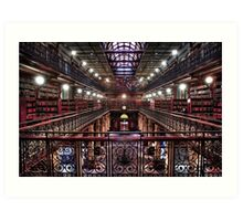 Mortlock Library Art Print