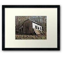 Jackie's House, Another Angle Framed Print
