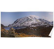 Himalayan Mountain View Poster