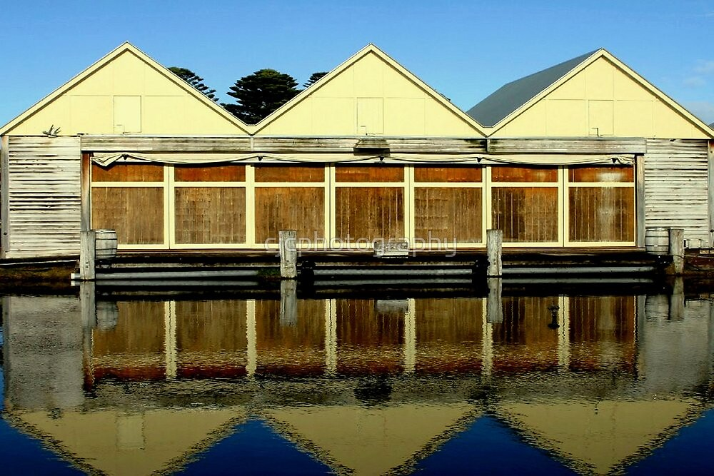 Old Boat Building by Chris Chalk