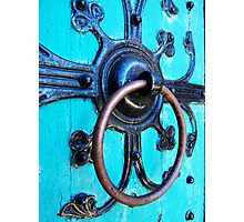 Ornate Door Knocker Photographic Print