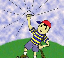 """Earthbound - """"Coat Hanger Ness"""" by PKHalford"""