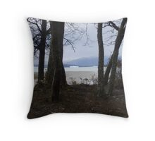 The End of the Day Ushuaia Argentina Throw Pillow