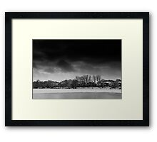 Winter's Coming Framed Print