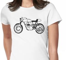 Classic Cafe Racer Womens Fitted T-Shirt
