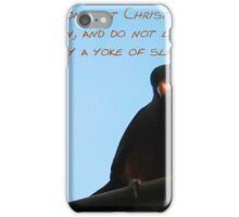 For Freedom We Have Been Set Free iPhone Case/Skin