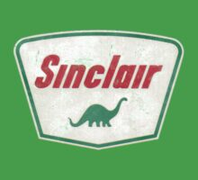 Vintage Sinclair logo by drubdrub