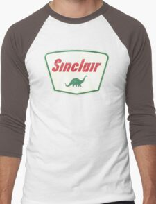 Vintage Sinclair logo Men's Baseball ¾ T-Shirt