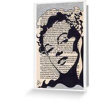 Marilyn bibliograph #3 Greeting Card