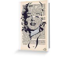 Marilyn bibliograph #2 Greeting Card