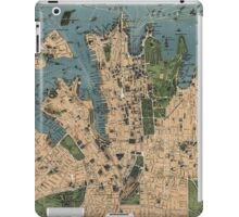 Vintage Map of Sydney Australia (1922) iPad Case/Skin