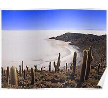 Salar de Uyuni, Bolivia Poster