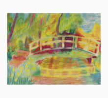 Monet's Japanese Bridge- Color Baby Tee