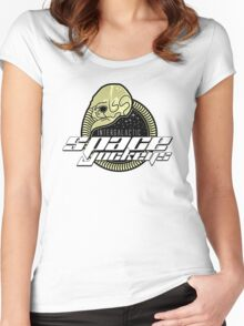 Intergalactic Space Jockeys Women's Fitted Scoop T-Shirt