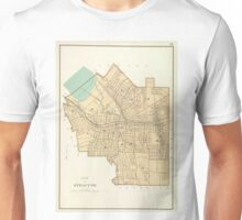 Vintage Map of Syracuse New York (1895) Unisex T-Shirt