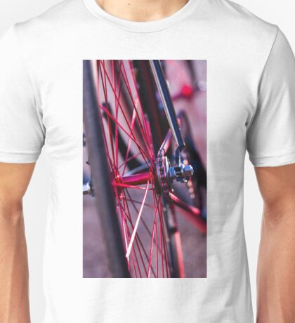 color of the wheel Unisex T-Shirt