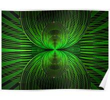 Globally Splits Green  Poster