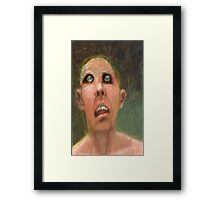 Scheme 5 (my chameleon is dead) Framed Print