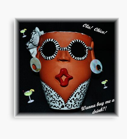 A Funny Face Canvas Print