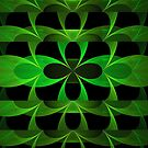 Splits Crop Green Clover by Beatriz  Cruz