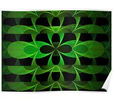 Splits Crop Green Clover Poster