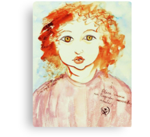 Alice Still In Wonderland Canvas Print