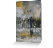 Summer Waters,City Spires Greeting Card
