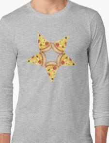 Pizza Sigil Long Sleeve T-Shirt