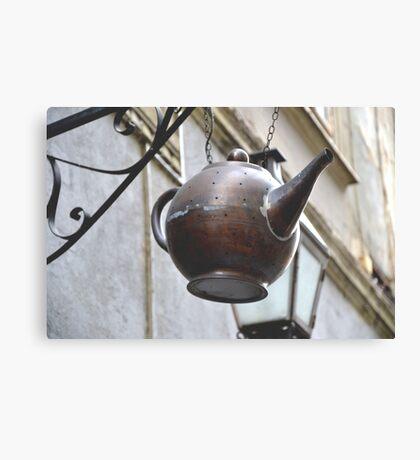 Teapot. Canvas Print
