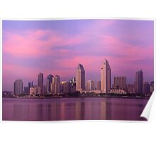 San Diego at Sunset Poster