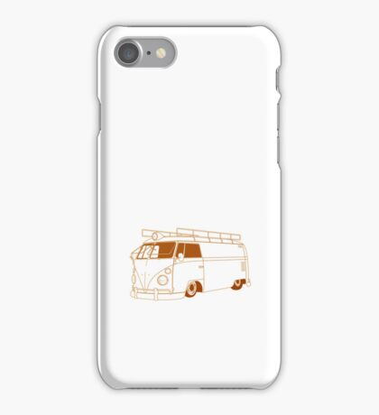 VW Panel Van (Small) iPhone Case/Skin