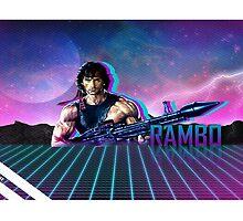 Rambo 80's Future by grappler