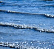 McIntosh Lake Waves Abstract Longmont Boulder County Colorado by Bo Insogna