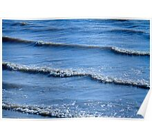 McIntosh Lake Waves Abstract Longmont Boulder County Colorado Poster