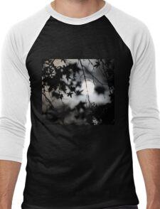 Moonlit Silhouette  Men's Baseball ¾ T-Shirt