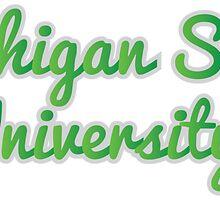 Michigan State University by SLEV
