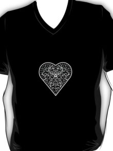 Ironwork heart white T-Shirt