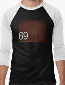 69 dude!!! Men's Baseball ¾ T-Shirt