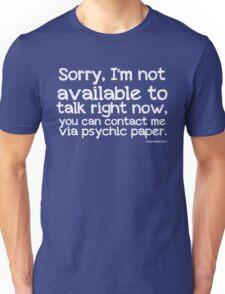 Via Psychic Paper. Unisex T-Shirt