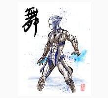 Mass Effect Liara Sumie style with Japanese Calligraphy Unisex T-Shirt