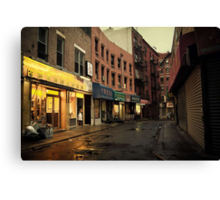 Seduction of the City - Chinatown - New York City Canvas Print