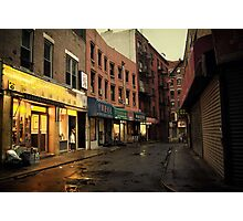 Seduction of the City - Chinatown - New York City Photographic Print