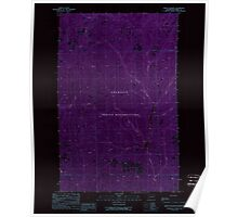 USGS Topo Map Washington State WA Frosty Meadow 241237 1989 24000 Inverted Poster