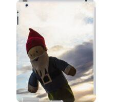 Colored Clouds Gnome iPad Case/Skin