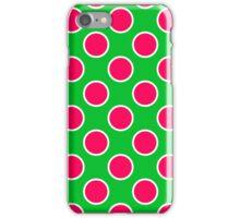 Watermelon Polka Dots  iPhone Case/Skin
