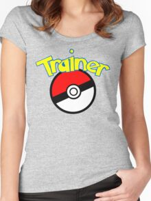 Trainer Women's Fitted Scoop T-Shirt