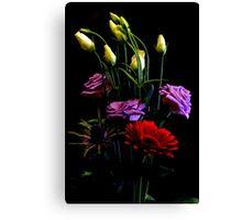 Flower Arrangement Canvas Print